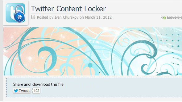 tweet-locker