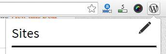 faf3 - افزونه گوگل کروم مدیریت سایت وردپرس
