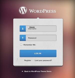 wordpress login 265 292934512 - افزودن امکان ورود کاربر با ایمیل در وردپرس