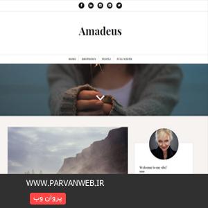 COVER1 - دانلود قالب شخصی و فارسی وردپرس Amadeus