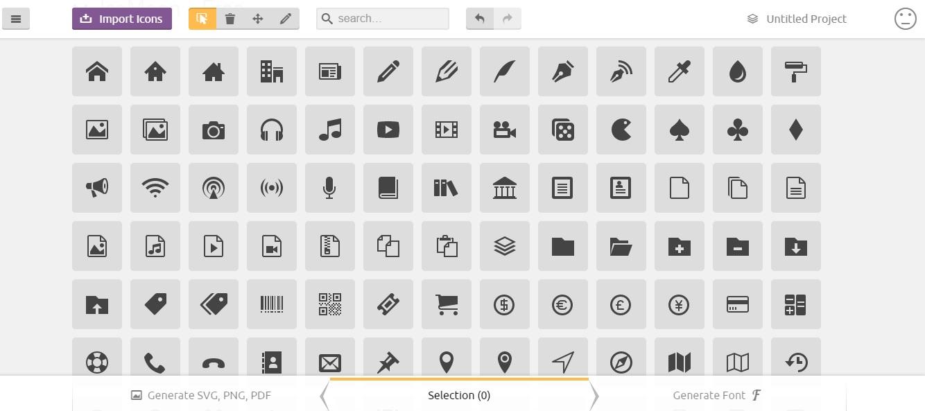 plugins website - افزونه ساخت آیکون های SVG با WP SVG icons برای وردپرس