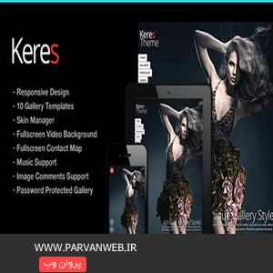 COVER2 - پوسته وردپرس عکاسی تمام صفحه Keres نسخه 2.5
