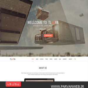 COVER20 - دانلود قالب وردپرس Tlazya