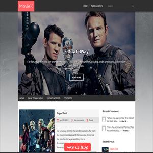 COVER7 - دانلود قالب Moviex برای وردپرس
