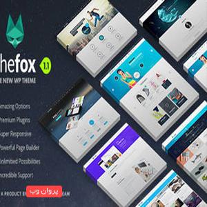 fox - دانلود قالب حرفه ای TheFox برای وردپرس