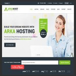 host 150x150 - قالب خدمات میزبانی وب ArkaHost به صورت HTML