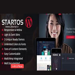 sta - دانلود قالب صفحه دانلود App با Startos برای وردپرس