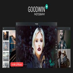 goof - دانلود قالب وردپرس عکاسی و ویدئو گودوین نسخه 1.3