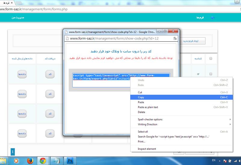 0580499001425357110 - آموزش قراردادن کد سامانه در سایت های وردپرس