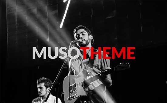 musotheme - معرفی 5 تا از بهترین قالب های موزیک 2017 وردپرس