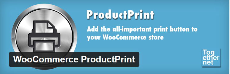 AX100.0 - چاپ و پرینت محصولات در ووکامرس با  WooCommerce ProductPrint