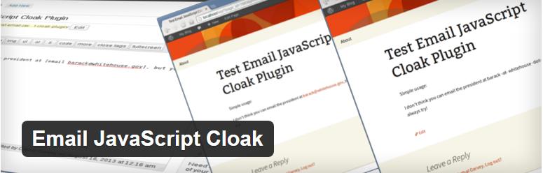 Email JavaScript Cloak - افزونه ایجاد امنیت برای ایمیل های وردپرس از اسپمر ها با Email JavaScript Cloaker