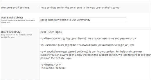 ax10 - ارسال ایمیل دلخواه به کاربران تازه وارد در وردپرس