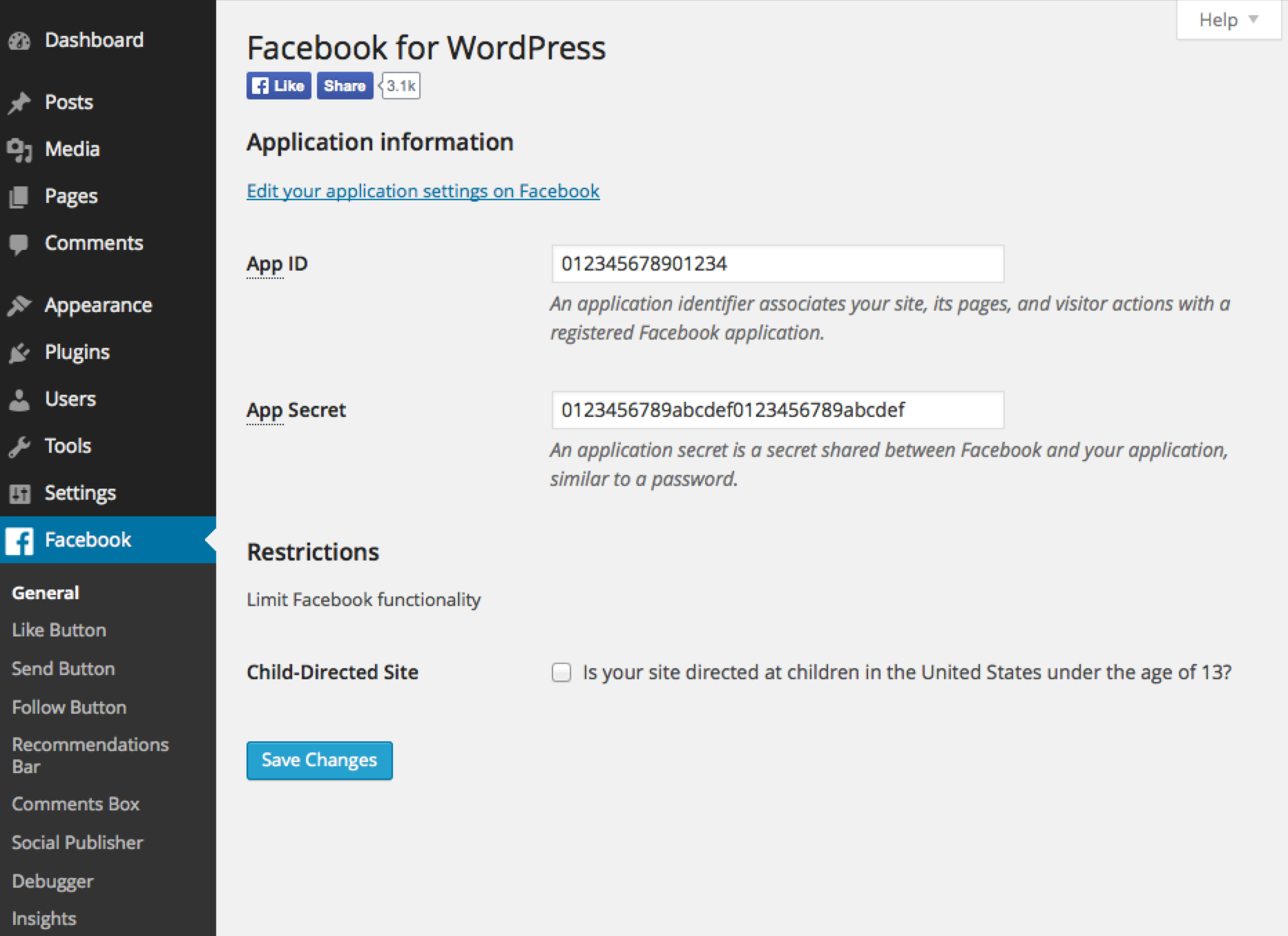 facebook plugins worldwp - انتشار مطالب وردپرس در فیسبوک با افزونه facebook