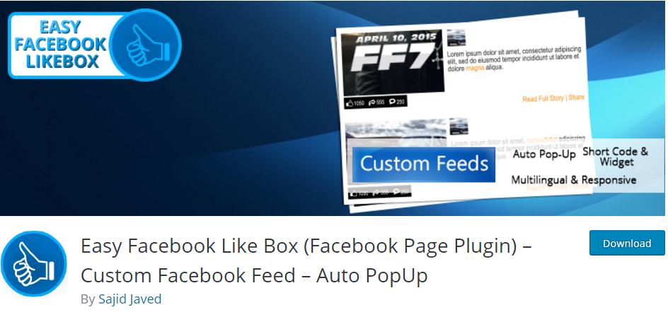 شش 1 - ایجاد یک لایت باکس فیسبوک در وردپرس با افزونه Facebook Like Box