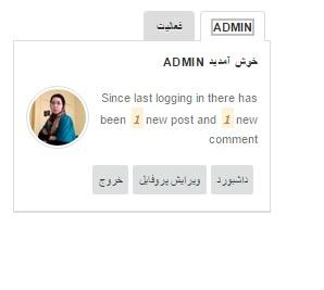 admin form - ورود و عضویت ایجکسی در وردپرس با استفاده از افزونه Ninety Ajax Login-Register