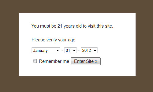 age verify - افزونه تعیین سن برای نمایش محتوا در وردپرس با Age Verify