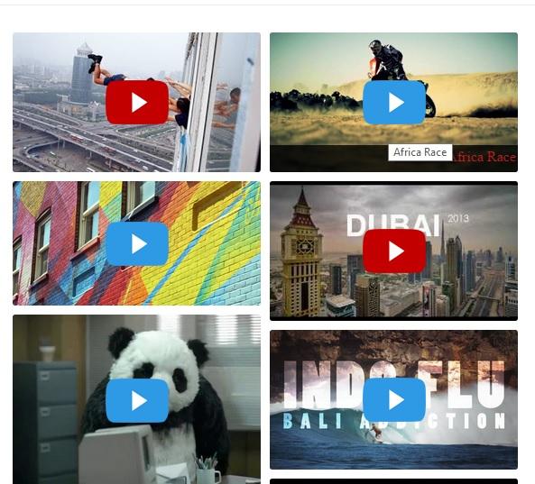 result of default - با افزونه Video Gallery به راحتی گالری ویدئویی دلخواهتون رو در وردپرس بسازید !
