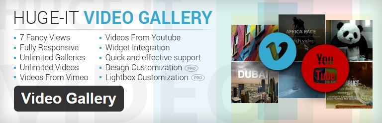 video gallery - با افزونه Video Gallery به راحتی گالری ویدئویی دلخواهتون رو در وردپرس بسازید !
