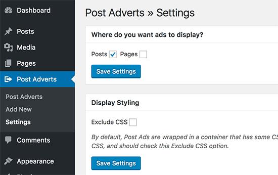 postads - آموزش اضافه کردن تبلیغات در بین پست ها در وردپرس