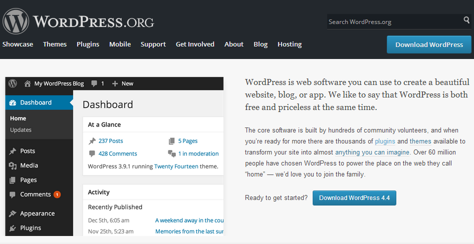 wordpress.org  - فرق بین wordpress.org با wordpress.com در چیست ؟!