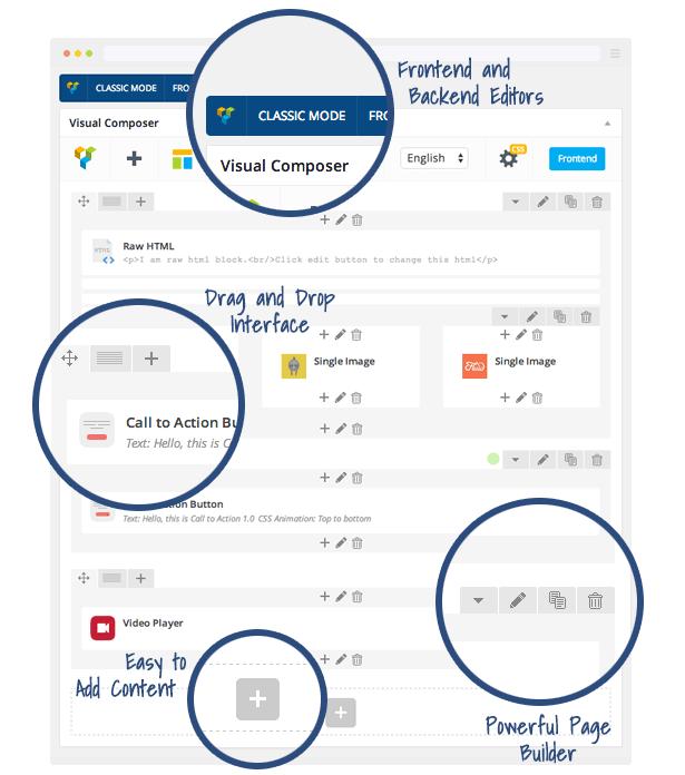 visual composer page builder - قالب فروشگاهی وردپرس مثل دیجی کالا مکس شاپ Maxshop 3.3.1 نسخه فارسی