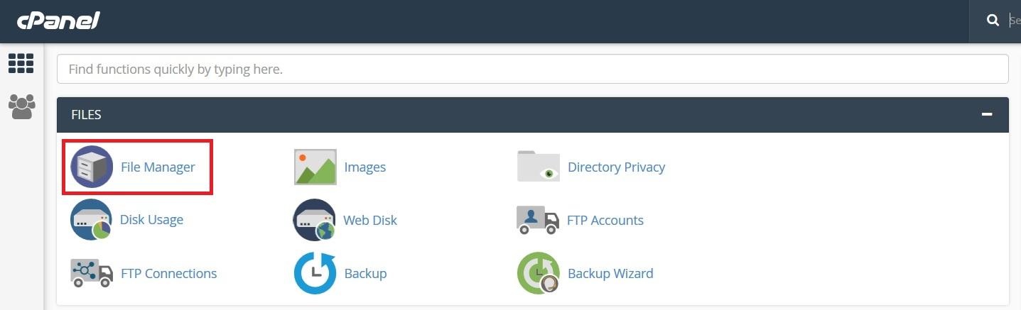 File Manager - آموزش آپدیت قالب و افزونه وردپرس