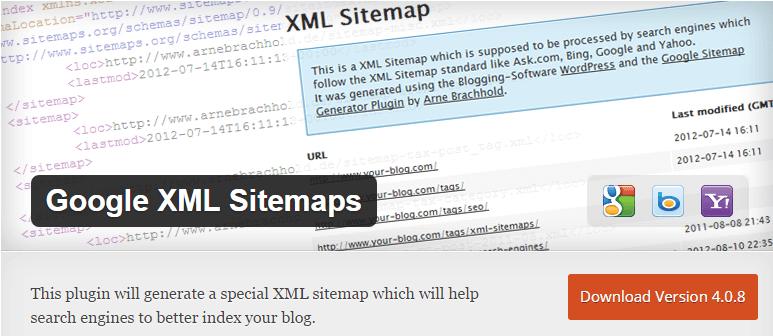 Google XML Sitemaps - ۱۲ تکنیک سئو و بهینه سازی و نکات افزایش رتبه سایت