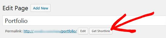 get shortlink button 1 - کوتاه کننده لینک در وردپرس  | چگونه دکمه Get Shortlink را برگردانیم؟