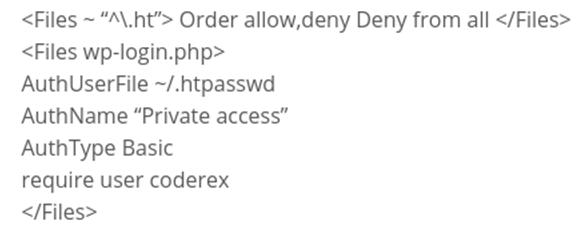 htpasswd generator - امنیت صفحه ورود وردپرس - خط اول دفاع در برابر مهاجم