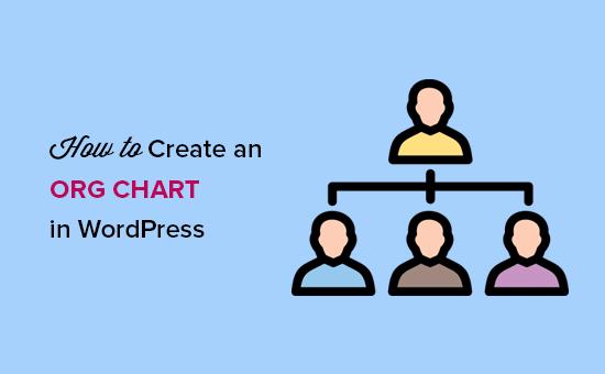 create an org chart featured1 - آموزش ساخت نمودار سازمانی در وردپرس با افزونه Easy Org Chart