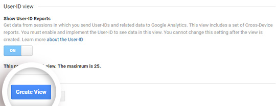 create view15 - آموزش نحوه فعال کردن ردیابی مشتری در ووکامرس با گوگل آنالیتیکس