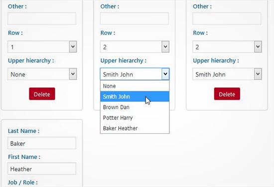 set upper hierarchy5 - آموزش ساخت نمودار سازمانی در وردپرس با افزونه Easy Org Chart