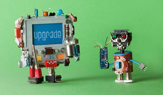 upgrades8 - مشکل قالب های نال شده وردپرس - ۹ دلیل برای نادیده گرفتن قالب ها و افزونه های نال وردپرس