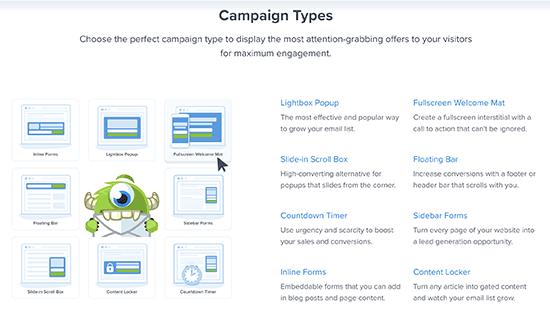 campaigntypes11 - چگونه بازدید کنندگان ووکامرس را به مشتری تبدیل کنیم؟ - بهینهسازی نرخ تبدیل CRO