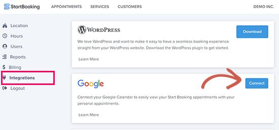 connectgcal13 - چگونه رزرو آنلاین در وردپرس را با StartBooking بهتر مدیریت کنیم؟