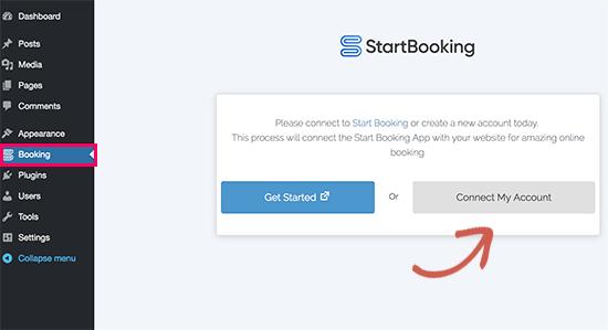 connectstartbooking6 - چگونه رزرو آنلاین در وردپرس را با StartBooking بهتر مدیریت کنیم؟