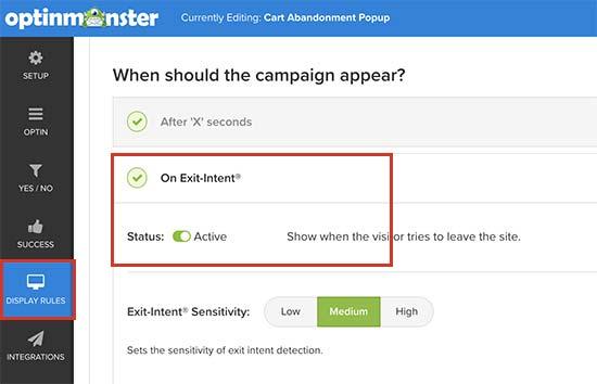 exitintent7 - چگونه بازدید کنندگان ووکامرس را به مشتری تبدیل کنیم؟ - بهینهسازی نرخ تبدیل CRO