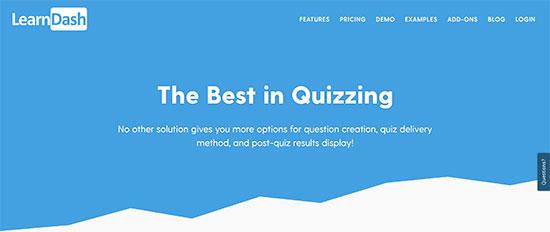 learndash - معرفی و مقایسه 9 افزونه آزمون برای وردپرس – بهترین افزونه آزمون وردپرس