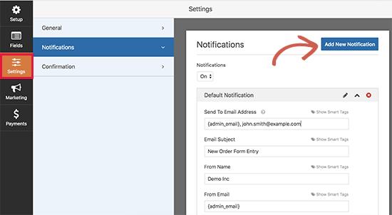 notifications8 - نحوه راه اندازی پرداخت کارت اعتباری در سایت وردپرس - فعال کردن فرم پرداخت در وردپرس