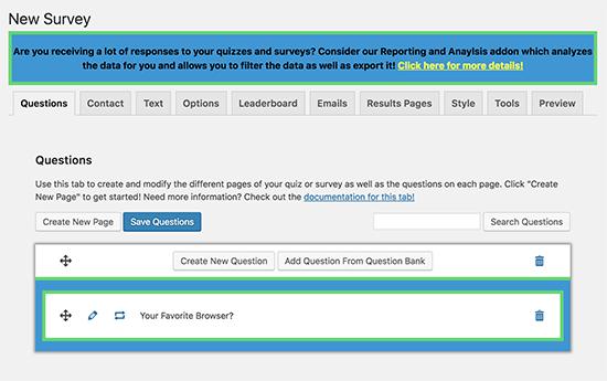 qsm - معرفی و مقایسه 9 افزونه آزمون برای وردپرس – بهترین افزونه آزمون وردپرس