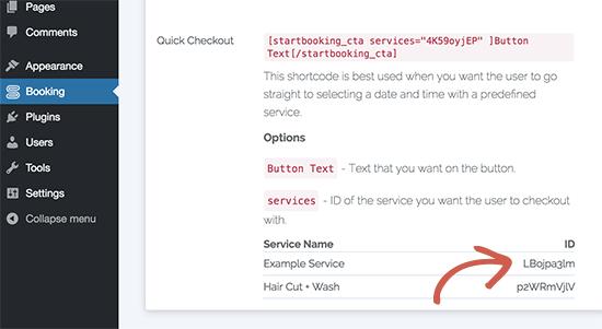 serviceid11 - چگونه رزرو آنلاین در وردپرس را با StartBooking بهتر مدیریت کنیم؟
