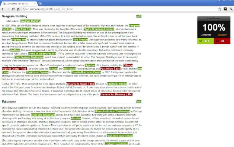 CheckMyLinks - بهترین ابزارهای پشتیبانی سئوی سایت وردپرس - بهترین ابزار حمایت از سئو
