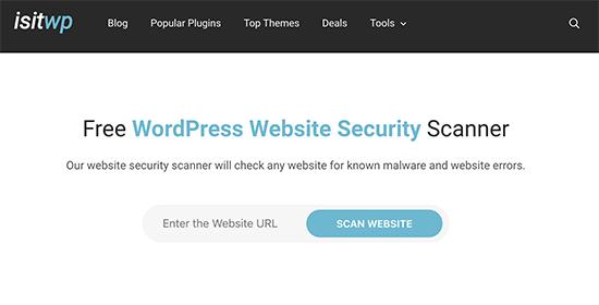 isitwpscanner - معرفی 14 اسکنر امنیتی وردپرس برای شناسایی بدافزار و هکرها - بررسی آنلاین امنیت سایت