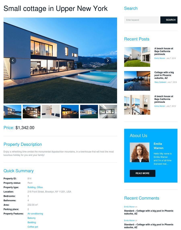 bellaina ad page - ساخت سایت تبلیغاتی با وردپرس و سایت ساز در 10 مرحله | سایت آگهی با وردپرس