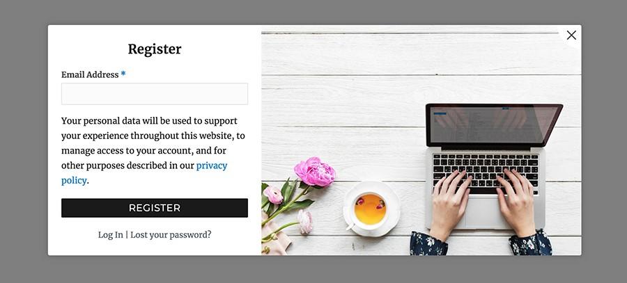 loginshop10 parvanweb.ir - ثبت نام و ورود به ووکامرس برای فروشگاه شما با افزونه WooCommerce login Popup