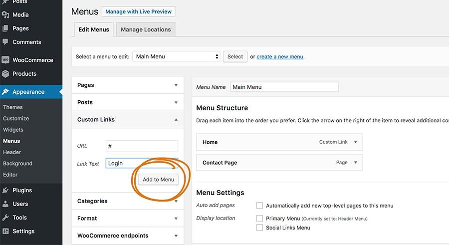 loginshop12 parvanweb.ir  - ثبت نام و ورود به ووکامرس برای فروشگاه شما با افزونه WooCommerce login Popup