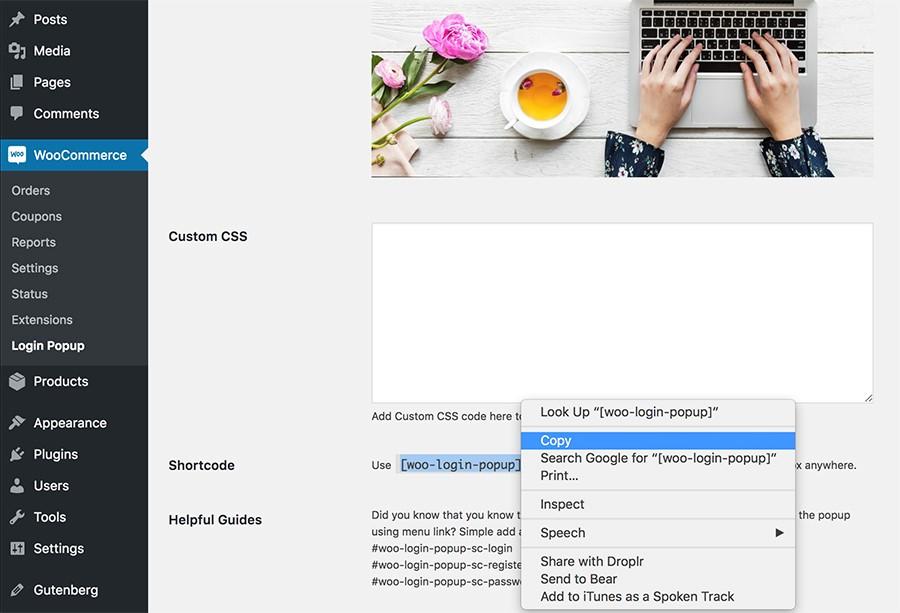 loginshop16 parvanweb.ir  - ثبت نام و ورود به ووکامرس برای فروشگاه شما با افزونه WooCommerce login Popup