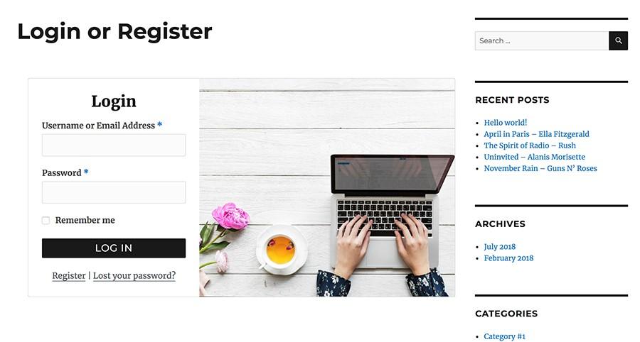 loginshop18 parvanweb.ir  - ثبت نام و ورود به ووکامرس برای فروشگاه شما با افزونه WooCommerce login Popup