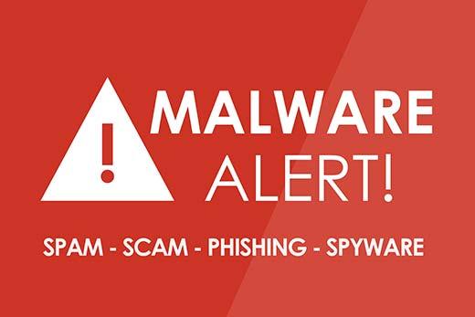 malwarealert - 11 دلیل عمده هک سایت های وردپرس | راه های جلوگیری از هک سایت وردپرس